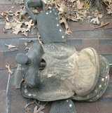 An old saddle in Fort Leonard Wood, Missouri