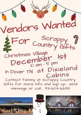 Christmas Village December 1st Vendors Wanted in Dover, Tennessee