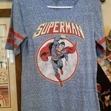 """$5.00 Ladies Large Superman Top Tshirt NEW  Red, White & Blue  Bust 36"""" without stretch - Length... in Leesville, Louisiana"""