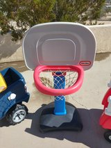 little tikes basketball hoop and ball in 29 Palms, California