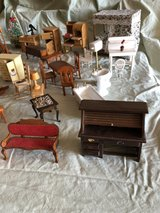 Doll house furniture- over 50 pieces in Bolingbrook, Illinois