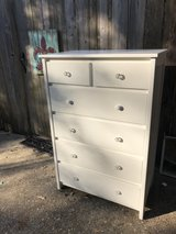 white six drawer dresser in Conroe, Texas