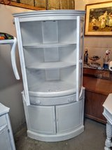 antique bow front corner cabinet by basset in Cherry Point, North Carolina