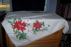 Christmas table cloth (rectangular) in Conroe, Texas