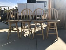 Barstool chairs in 29 Palms, California