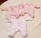 Three Faded Glory Preemie Onesies in Fort Leonard Wood, Missouri