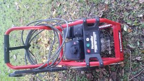 Homelite 2500 PSI pressure washer in Kingwood, Texas