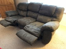 Couch with two recliners in Oswego, Illinois