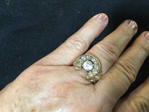 Men horseshoe diamond ring in Cleveland, Texas