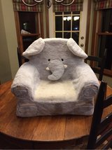 Elephant chair for toddlers in Naperville, Illinois