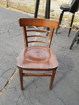 43 Solid wood ladder back side dining chairs in Westmont, Illinois