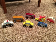7 wooden vehicles in Bolingbrook, Illinois