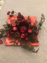 Christmas centerpiece in Clarksville, Tennessee