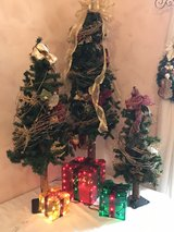 Christmas Trees w/ Lighted Presents in Orland Park, Illinois