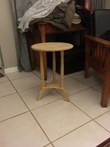 round end table in Camp Pendleton, California