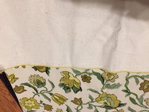 """Rectangular Vinyl Table Cloth w/Flannel backing. 49"""" x 67"""" in Lockport, Illinois"""