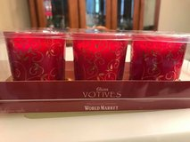 New Red and Gold Votive Cups in Plainfield, Illinois