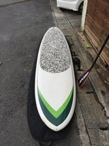 10'6 SUP Paddle Board w/ Case/leash/paddle in Okinawa, Japan