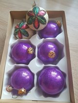 ** christmas balls ** in Ramstein, Germany