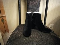 black suede boots in Las Vegas, Nevada