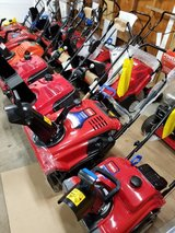 Snowblowers $350 @ up . Used and new available in Joliet, Illinois