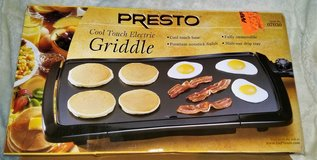 AMERICAN PRESTO COOL TOUCH ELECTRIC GRIDDLE - 120V in Spangdahlem, Germany