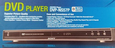 SONY AMERICAN CD/DVD PLAYER DVP-NS57P DUAL VOLTAGE in Spangdahlem, Germany