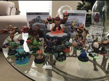 SKYLANDERS PS3 with 2 games and Characters in Chicago, Illinois