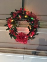 wreath in Travis AFB, California
