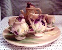 # 18 Miniature Purple Lilac Tea Set in Alamogordo, New Mexico