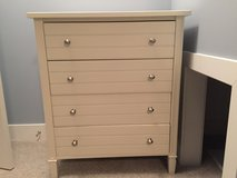 Crate & Barrel 4 drawer dresser in Naperville, Illinois