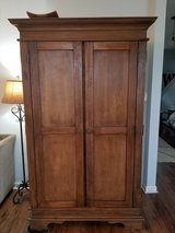 Solid Wood Armoire in Camp Lejeune, North Carolina