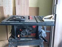 Craftsman table saw 110v in Ramstein, Germany