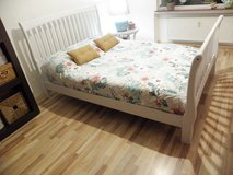 Chic American Queen size Bed Frame in Ramstein, Germany