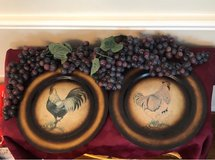 Rooster plates and Grapes in Baytown, Texas
