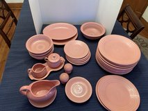 Fiesta ware set in Batavia, Illinois