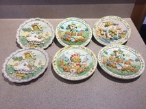 Cherished teddies plates in Yorkville, Illinois