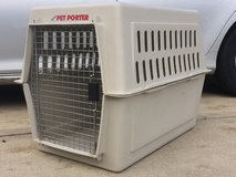 """DOG CRATE LARGE KENNEL 36""""x24""""x26"""" PET TRAVEL in Lockport, Illinois"""