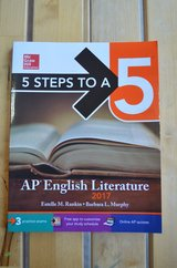 5 Steps to a 5 AP English Literature 2017 by Murphy Rankin. in Batavia, Illinois