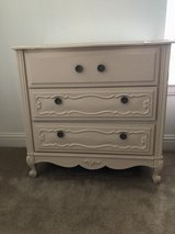Cream antique looking small dresser in Camp Pendleton, California