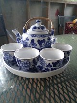 MISTY ROSE CHINA TEA SET in Liberty, Texas