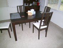 Dining Room Table w 4 Chairs in Bellaire, Texas