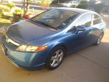 Payment transfer 2007 Honda Civic 4 door automatic sedan car blue GREAT condition in Fort Bliss, Texas
