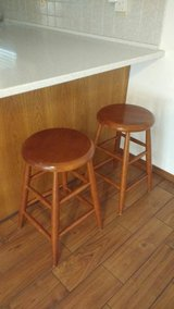 Two Nice Wooden Stools in Alamogordo, New Mexico