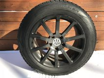 Audi Q7 Winter Tires with Aluminum Rims in Elgin, Illinois