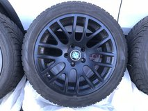 Set of 4 Winter Tires Aluminum Rims- BMW 5 Series in Elgin, Illinois