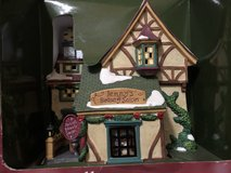 New Holiday Time Village Collectibles Jenny's Beauty Salon Porcelain Light House in Kingwood, Texas