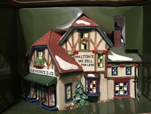 Holiday Time Village Collectibles Walton's 5&10 Hand Painted Porcelain House New in Kingwood, Texas