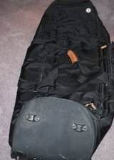 Golf bag for airline travel in Fort Campbell, Kentucky