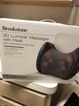 BROOKSTONE lumbar messager has not w/heat in Kingwood, Texas